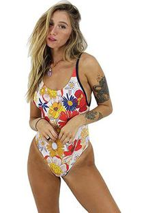 Maiô Rip Curl Mix And Match One Piece Feminino - Feminino-Marinho