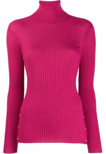 Versace Suéter Gola Alta - Rosa