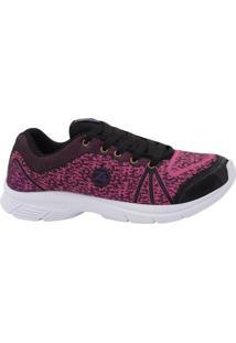 Tenis Audax Master Feminino - Feminino-Preto+Pink