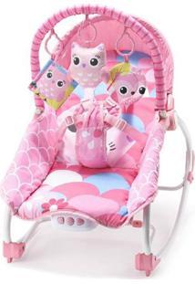 Cadeira De Balanço Para Bebês 0-20 Kg Rosa Weego - 4029 - Tricae