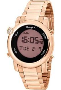 Relógio Champion Digital Ch48126X Feminino - Feminino-Rosa