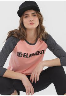 Blusa Element Raglan Skoter Rosa