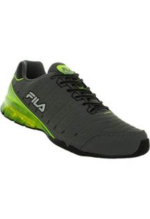 Tenis Running Cinza Sequential Fila 57419017