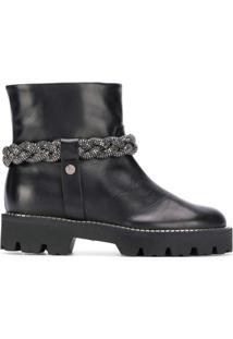 Baldinini Ankle Boot - Preto