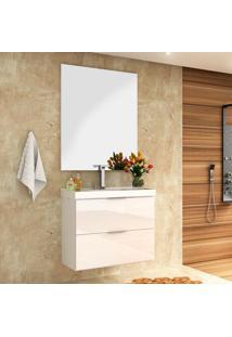 Conjunto Para Banheiro Pietra Branco