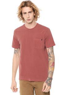 Camiseta John John Rx Pocket Vermelho