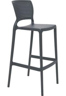 Cadeira Safira- Grafite- 104X49,5X47Cm- Tramontitramontina