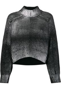 Diesel Suéter Degradê - Preto