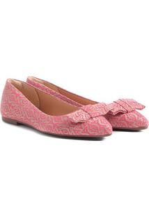 Sapatilha Shoestock Laço Feminina - Feminino-Pink