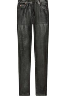 Gucci Calça Jeans Skinny - Preto