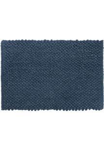 Tapete Micropop- Azul Escuro- 60X40Cm- Camesacamesa