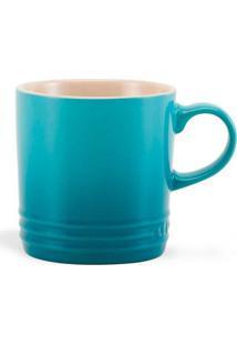 Caneca Cappuccino 200 Ml Azul Caribe Le Creuset