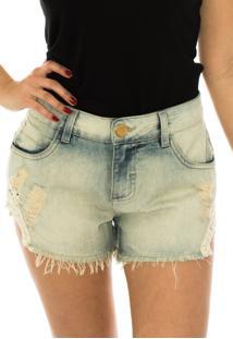 Shorts Capim Canela Jeans Guipire Jeans