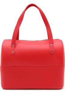 Bolsa Colcci Tachas Vermelha