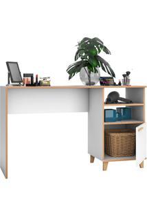 Mesa Para Computador Bc 67 Branco / Pinus