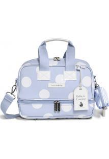 Bolsa Térmica Maternidade Masterbag Baby Vicky Bubbles   Cor: Azul
