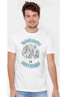 Camiseta Hang Loose Silk Dabeach Masculina - Masculino