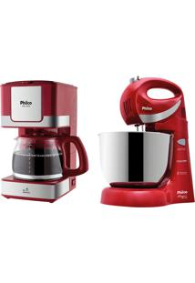 Kit Batedeira Paris+Cafeteira Ph31 Coffeecake Vm Philco 220V