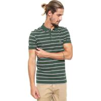 5e00f7eff55 Camisa Polo Lacoste Reta Listras Verde