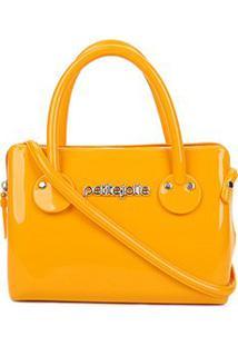 Bolsa Petite Jolie J-Lastic Mini Bag Feminina - Feminino-Amarelo