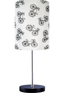 Abajur Carambola Bikes Bege - Bege - Dafiti