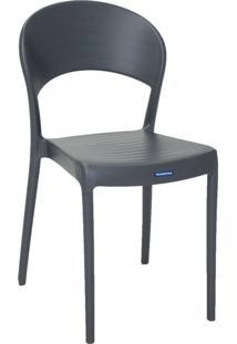Cadeira Tramontina Sissi 92046/007 Grafite Se