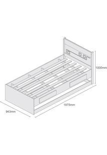 Cama De Solteiro Bibox Mec C/ Cama Auxiliar - Tcil
