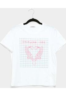 Camiseta Cavalera Tee Girl High Tech Eagle Feminina - Feminino