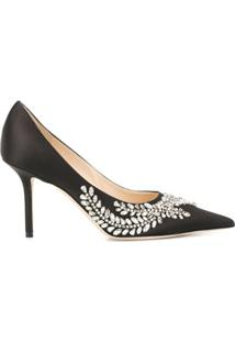 Jimmy Choo Scarpin The Love Com Salto 85Mm - Preto