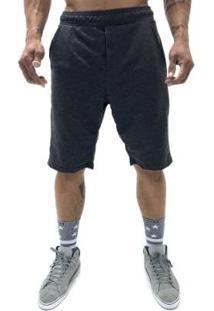 Bermuda Liv Clothing Basic Line Masculina - Masculino-Mescla Escuro