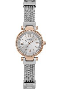 Relógio Guess Feminino Aço - W1009L4