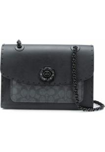 Coach Parker Shoulder Bag - Preto