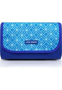 Tapete Para Piquenique Impermeável Jacki Design Fresh Azul