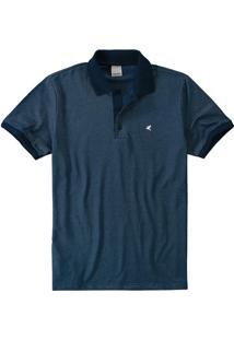 Camisa Polo Tradicional Malha Diferenciada Malwee