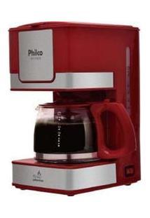 Cafeteira Ph16 Inox Vermelha 127V Philco