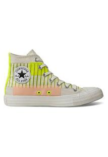 Tênis Converse All Star Chuck Taylor Hi Bege Claro Ct14840001