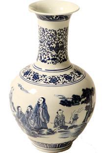 Vaso Decorativo De Porcelana Stoker