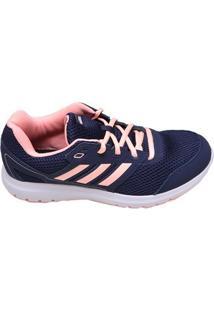Tênis Feminino Corrida Duramo Lite 2.0 Adidas Azul Marinho E Rosa Claro