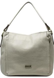 Bolsa De Couro Recuo Fashion Bag Hobo Cacau