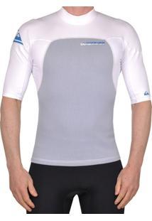 Camiseta Lycra Quiksilver Neo Syncro 1.0 Mm Mc Flat - Masculino