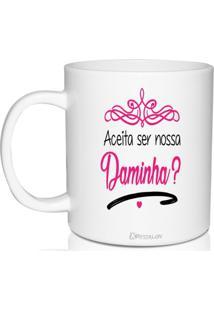Caneca Branca Lembrancinha Personalizada Para Daminha