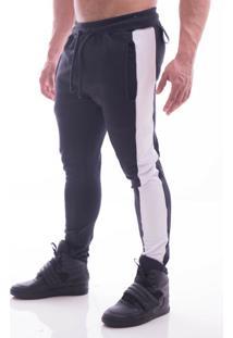 Calça Advance Clothing Amarração Preto/Branco