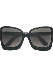 Tom Ford Eyewear Óculos De Sol Oversized - Preto