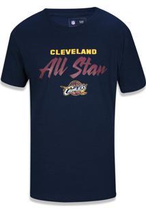 Camiseta New Era Baby Look Cleveland Cavaliers Marinho