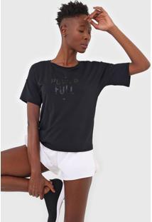 Camiseta Alto Giro Lettering Preta