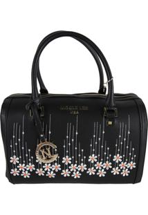 Bolsa Nicole Lee Rosaline Boston Preto