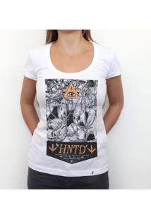 Hntd - Camiseta Clássica Feminina