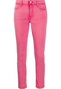 Escada Sport Calça Jeans Skinny - Rosa