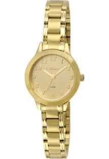 Relógio Condor Feminino Mini Co2035Kry/4D - Dourado Co2035Kry/4D - Feminino-Dourado