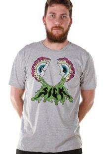 Camiseta Bandup! Bdp Clothing Sick Masculina - Masculino-Mescla